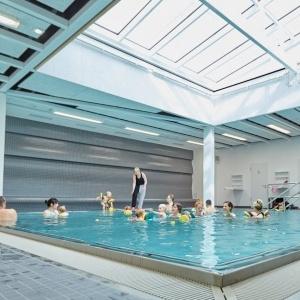 Bewegungsbecken Aquafitness Babyschwimmen Magdeburg
